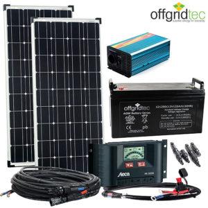 Wohnwagen Solarpaket Autarke Stromversorgung